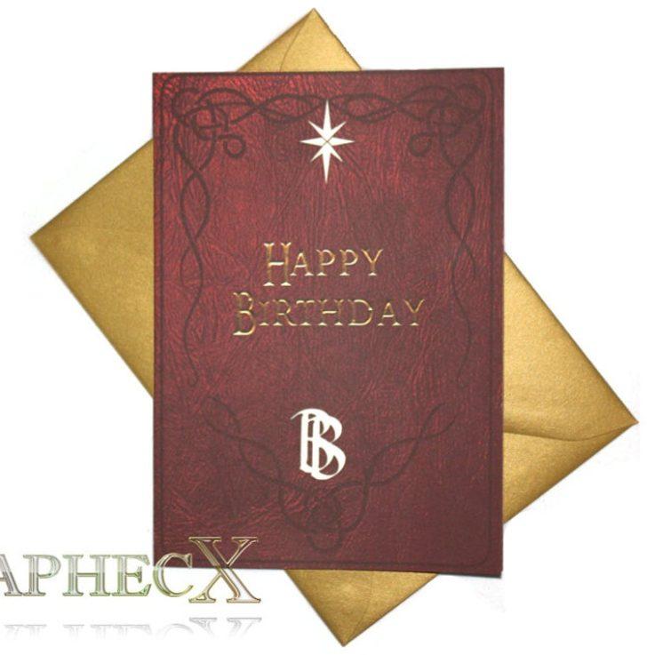 bilbosbookinspiredbirthdaycard