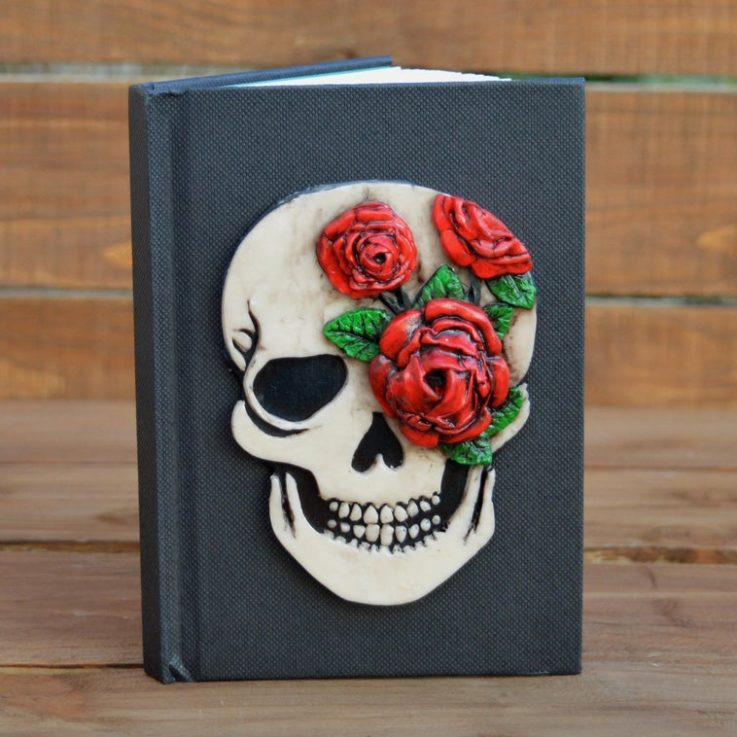 skullnotebookpersonalized