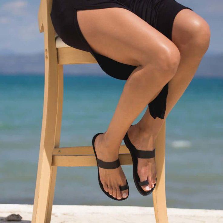 Classic Greek style sandals