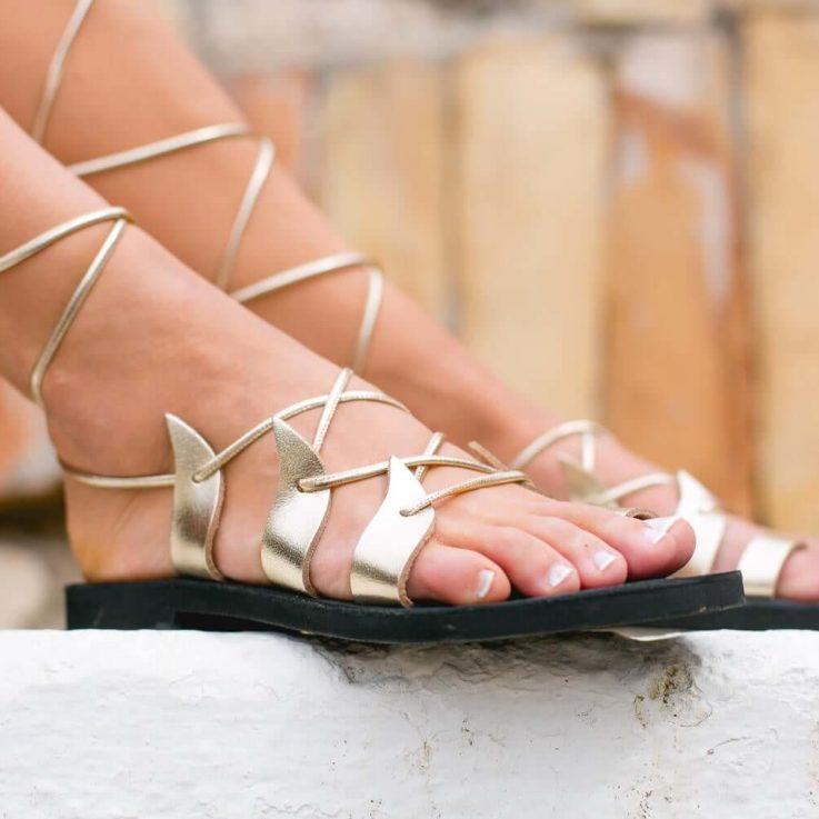 Gladiator sandals-Greek Leather sandals