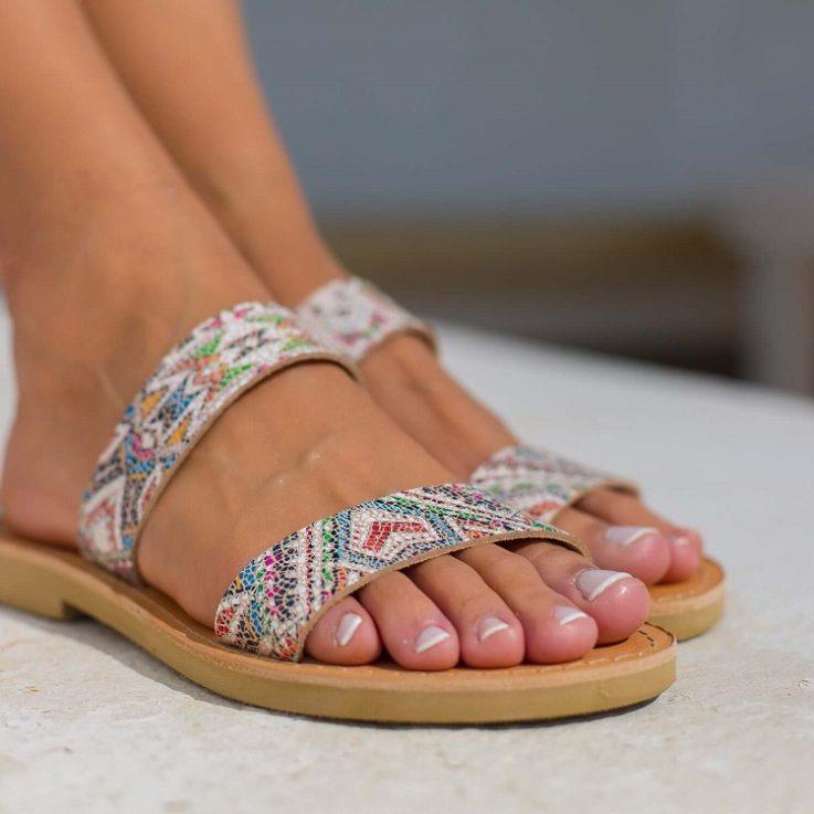 Hippie Boho Tribal Sandals