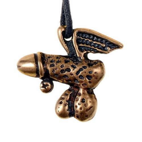 Winged Phallus Amulet