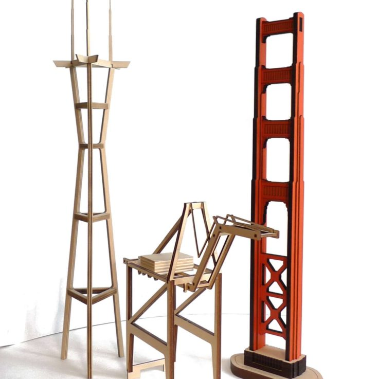 sutro-tower-model-kit