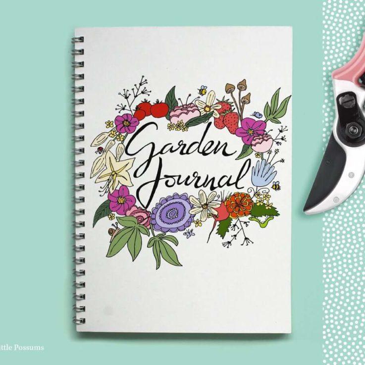 Garden journal Gardeners gift Gardening diary Gardener Garden planner Gift for gardeners