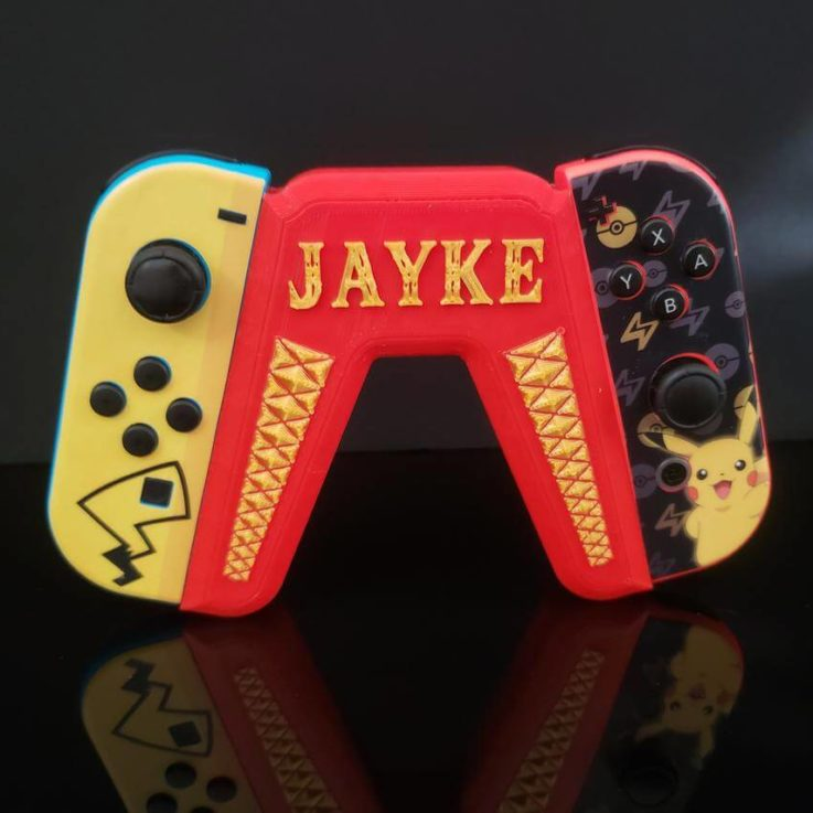 Personalized Joy Con Grip for Nintendo Switch Controllers