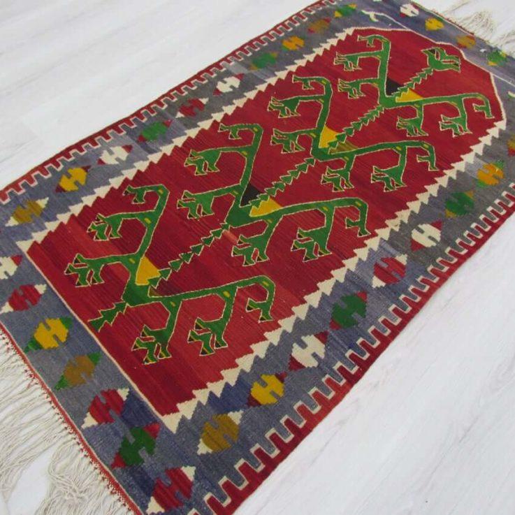 Tribal Kilim Rug, 5.83 x 3.24 Feet Rug, Handmade Rug, Wool Rug, Turkish Kilim Rug, Decorative Rug, Vintage Rug, Boho Rug, Home Decor Rug