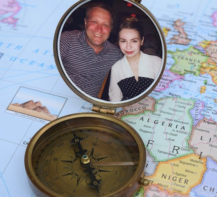 compass, photo compass, engraved compass, personalized compass, wedding gift, groomsmen gift, father of bride gift, groom gift, anniversary