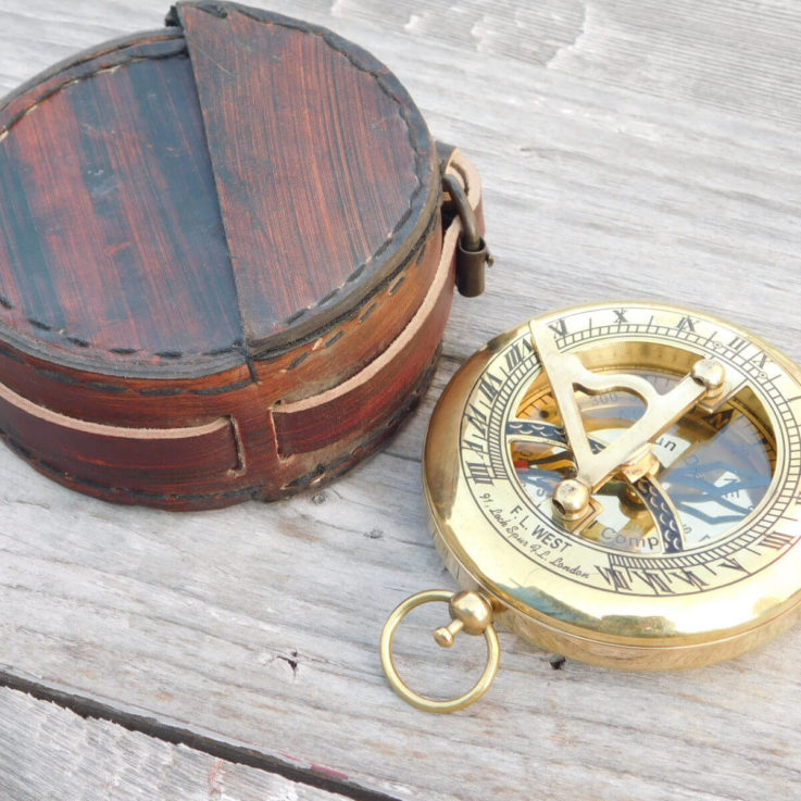 compass, sundial compass, engraved compass, personalized compass, groomsmen gift, wedding, anniversary, corporate gift, anniversary gift