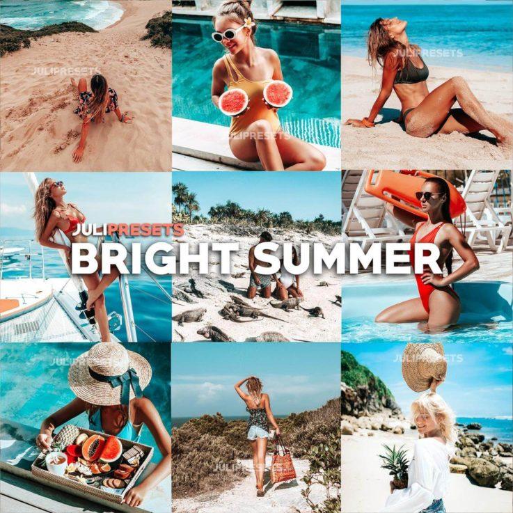 6 Mobile Lightroom Presets Bright Summer - Blogger Travel Beach presets, Instagram Presets, Lightroom Mobile, Presets Mobile Lightroom