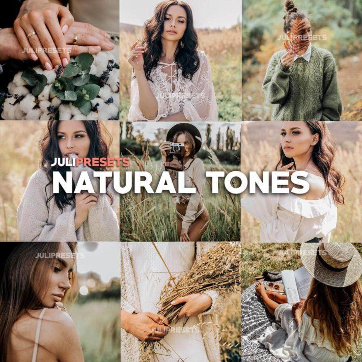 6 Mobile Lightroom Presets Natural Tones - Lifestyle Blogger Filter for Photo, Instagram Presets, Lightroom Mobile, Presets Mobile Lightroom
