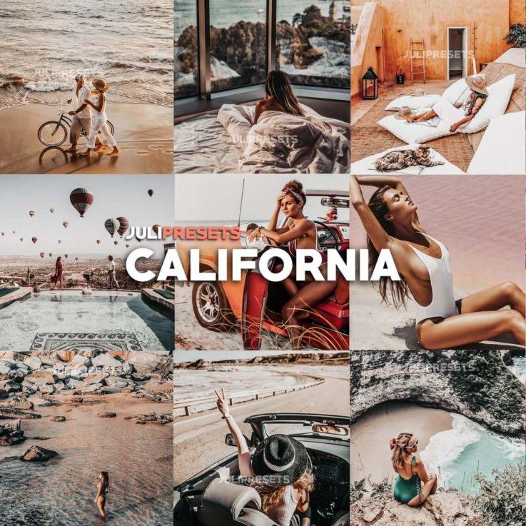 8 Mobile Lightroom Presets Cali - Lifestyle Blogger Filter for Photo, Instagram Presets, Lightroom Mobile, Presets Mobile Lightroom