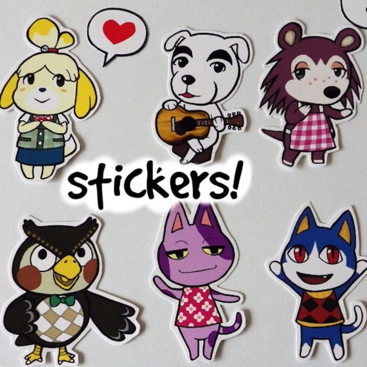 Animal Crossing - Cute Stickers