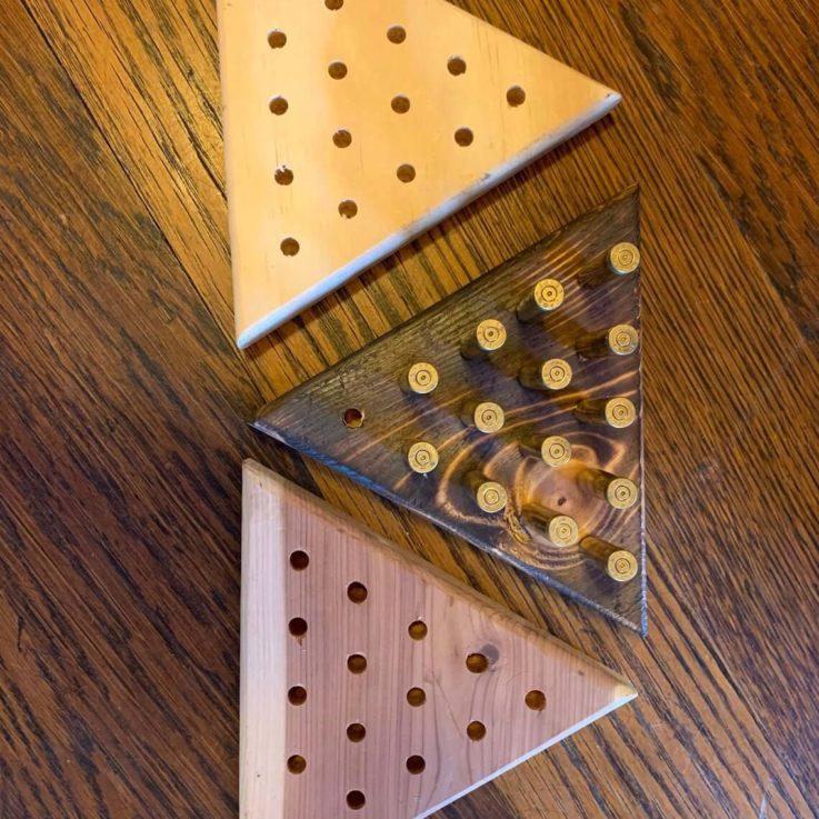 Bullet Peg Game Puzzle