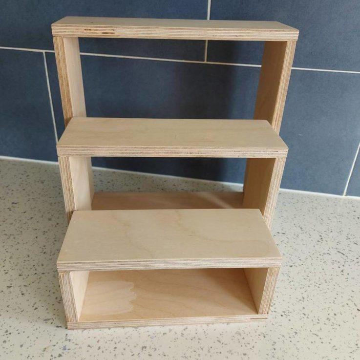 Craft Fair Stand - Jewellery Stand - Mug Stand - Custom Display - Workbench Shop - Etsy Local Fair - Three Tier Stand - Market Display