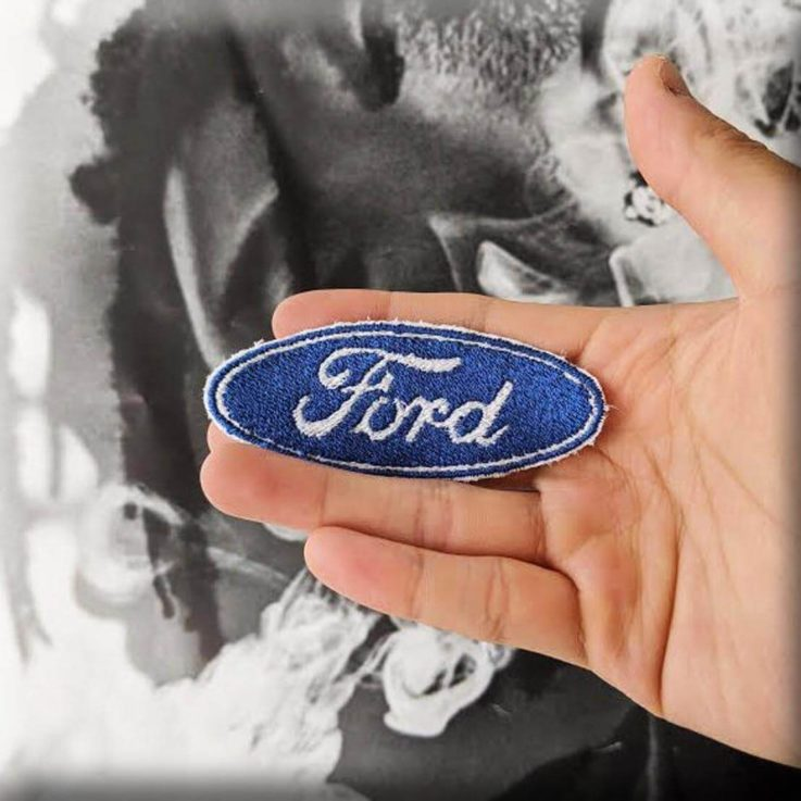 FORD MOTORS Embroidered Iron-on Sew-on Patch