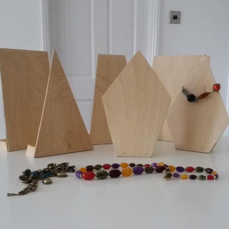Jewellery Display Stand Set. Bespoke Necklace Stands. Table Top Stands. Market Displays. Photograph Prop. Etsy Local