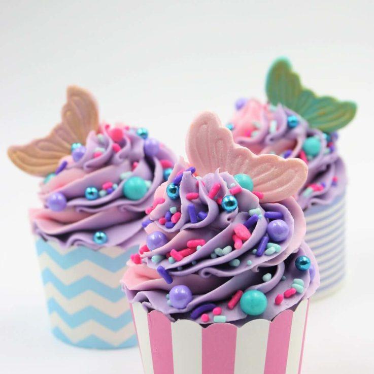 Mermaid Tale Cupcake Topper