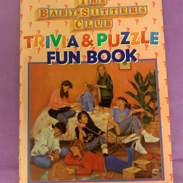 The Baby-Sitters Club Trivia and Puzzle Fun Book