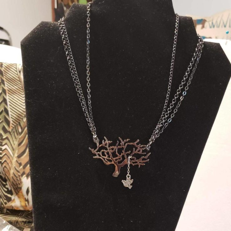 Tree of Life with Silver Dove