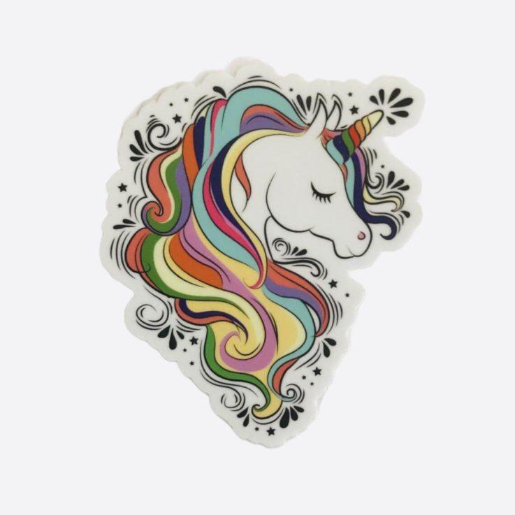 Unicorn Party - Unicorn Die Cut Stickers Unicorn Birthday Decorations Unicorn Birthday Party Unicorn Party Supplies Unicorn Baby Shower