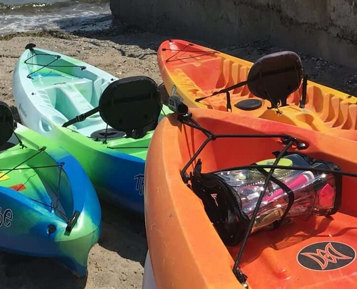 Kayak Roll-Up - Kayak Accessories - Boat Accessories- Beach Bag Organizer - Small Storage Ideas- Small Space Storage Ideas - Beach Gift