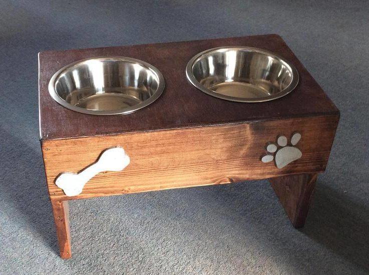 Large dog bowl, raised dog bowl stand, dog bowls, pet feeding, custom dog bowl, dog feeder, personalised pet bowl,