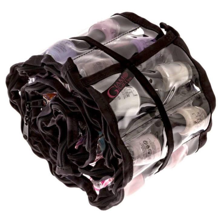Nail Polish Organizer- Nail Polish Storage - Nail Polish Bag - Lipstick Storage - Lipstick Organizer - Cosmetic Storage - Clear Bags