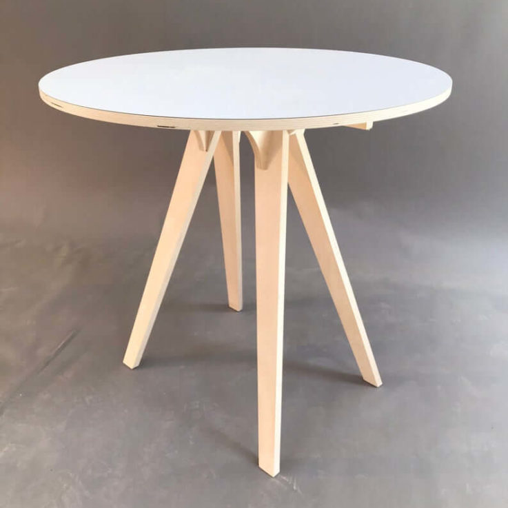 Our small round table