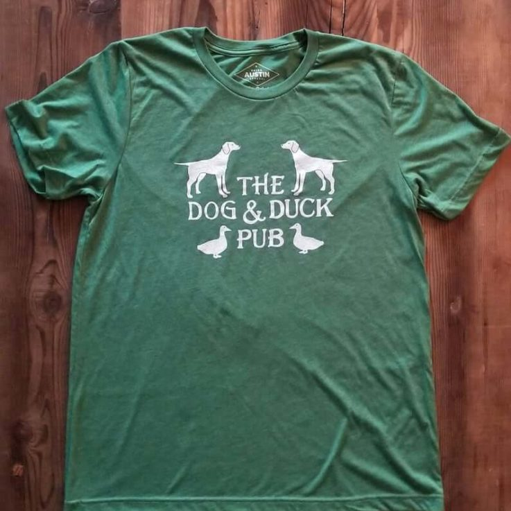 Quality Dog & Duck Pub Retro Tee