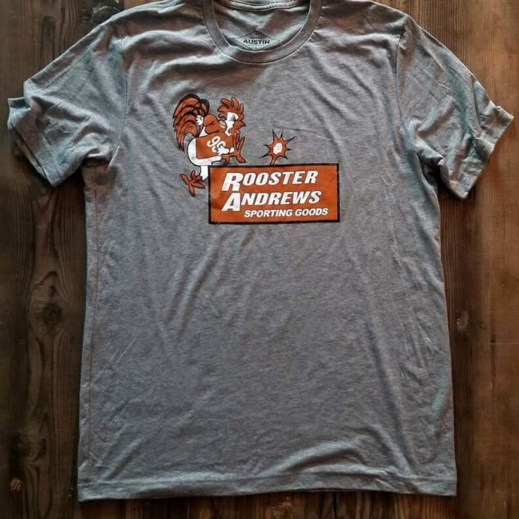 Quality Rooster Andrews Retro Tee