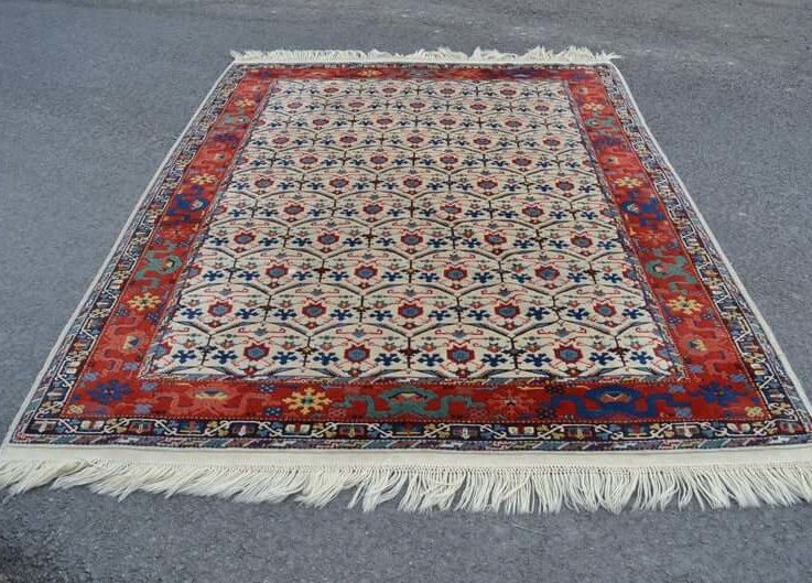 handknotted rug matchless rug FREE SHIPPING 6.9x8.9 ft turkish area rug decorative rug floor rug oushak rug RC2751