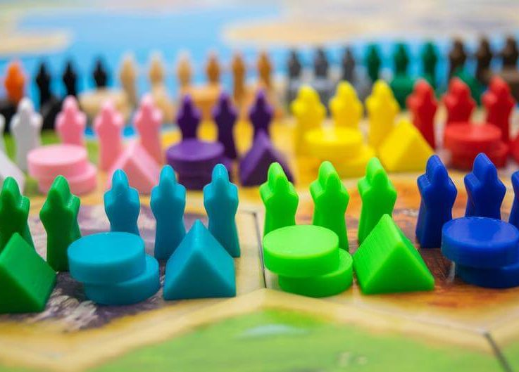 Catan Legend of the Sea Robbers Settlers of Catan Catan Pieces Replacement Pieces 3D Printed