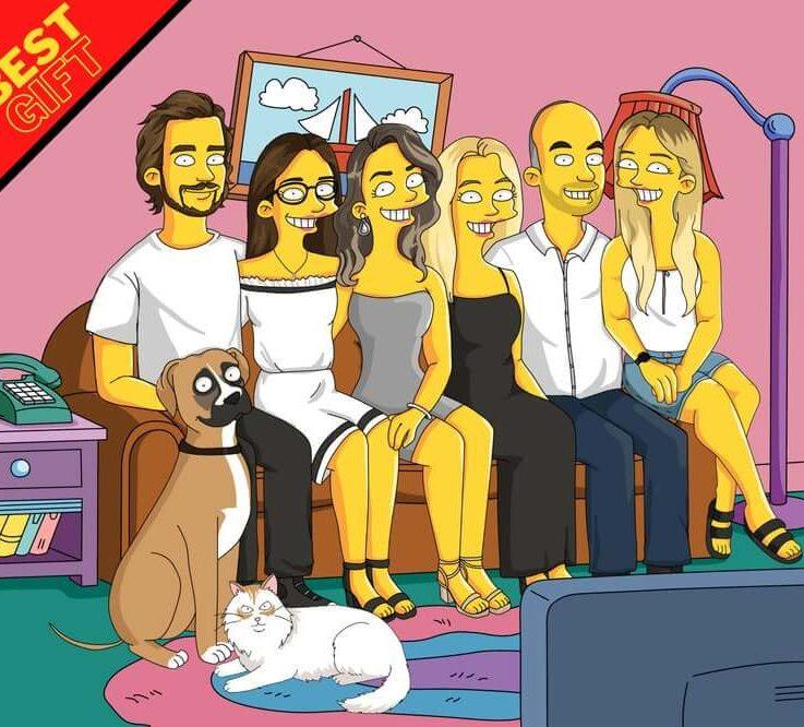 Custom Cartoon, Family Caricature, Caricature and Cartoon Drawing, Personalized Cartoon, Cartoon Portrait, Couple Caricature