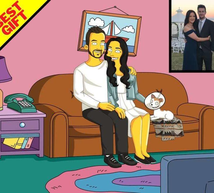 Custom Cartoon, Family Caricature, Caricature and Cartoon Drawing, Personalized Cartoon, Cartoon Portrait, Couple Caricature2