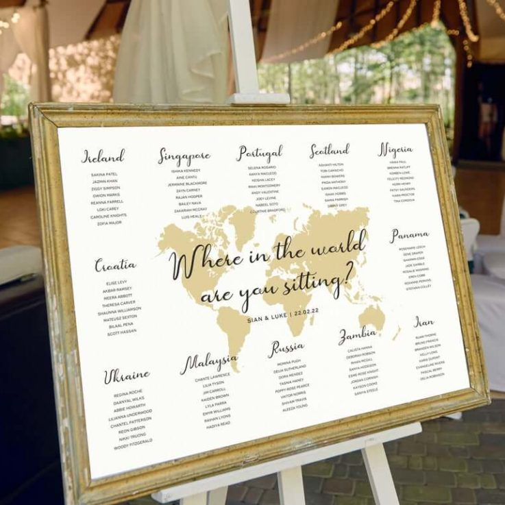 Destination Table Plan Wedding, Where In The World Am I Sitting, Are You Sitting, Seating Chart, Seating Plan, Chart, Board, Table Planner