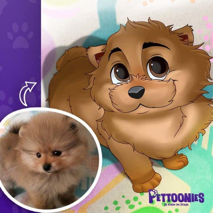 Disney Pet Portrait, Cartoon Pet Portrait, Pet Cartoon from Photo, Pet Disney Style, Custom Pet Cartoon, Handmade Pet Portrait, Pet Gift