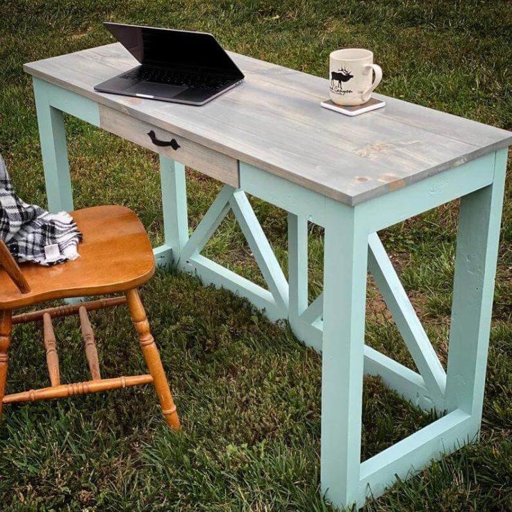 Farmhouse Desk, Office Desk, Work Desk