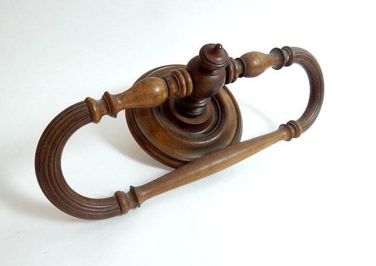 French Vintage Ciel de Litin Walnut