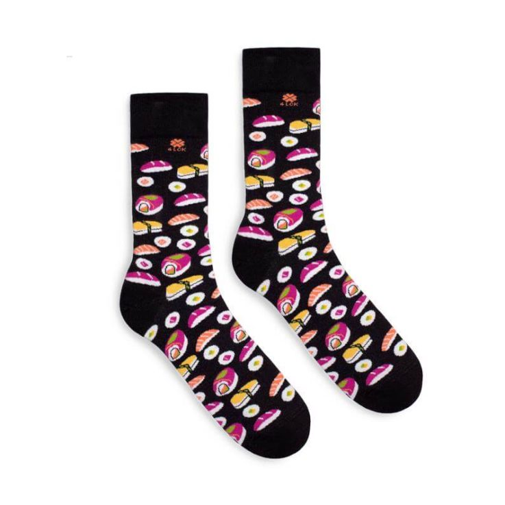 Funky Colorful Socks Sushi