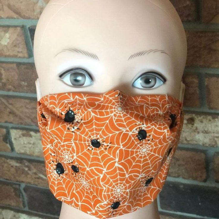 Halloween Face Masks with Filter and Nose Piece!