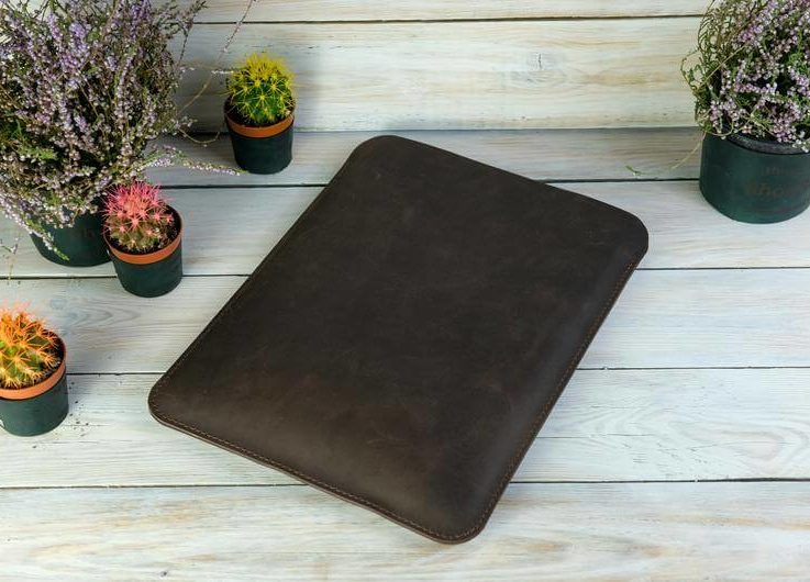 Leather cover for Macbook, Slim leather sleeve, Macbook 13 inch case,Macbook Pro 15 2020, Macbook Air 13 2020, Personalized Leather gift121