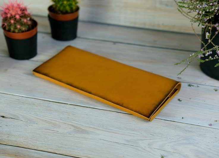 Leather wallet, gift for him, Thin leather wallet, Gift for her, men's leather wallet, Women's leather wallet, Gift for father 2