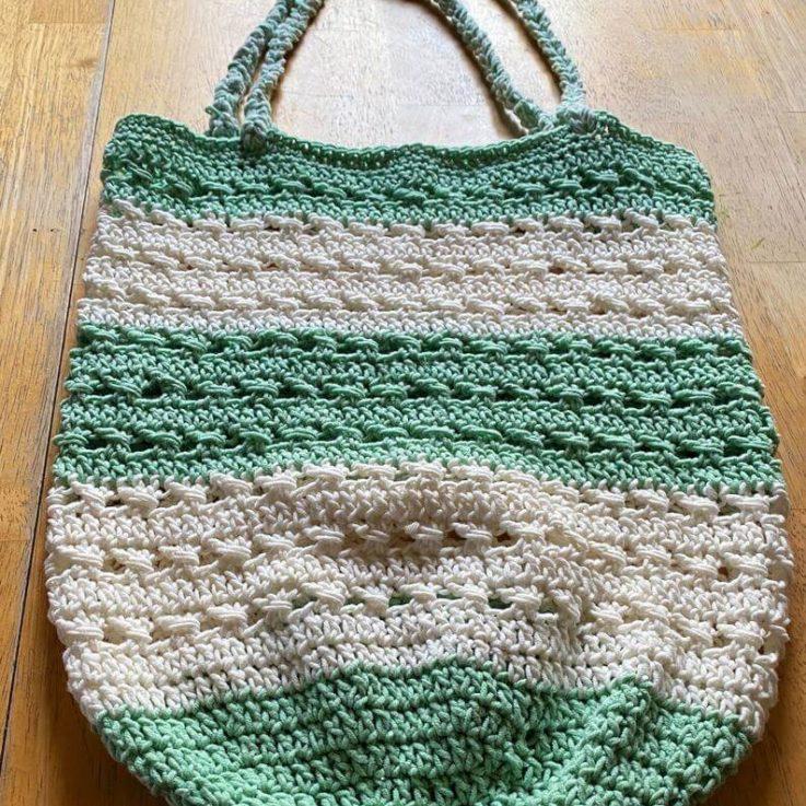 Market tote bags, handmade market bags, crochet market bag, reusable market bag, washable market bag, cotton market bag