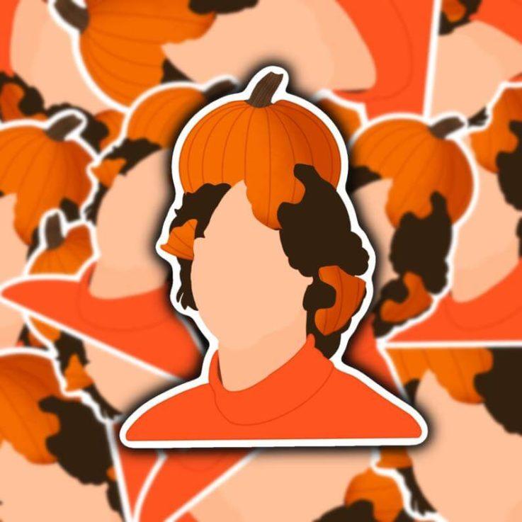 Matthew Gray Gubler with Pumpkin Limited Edition
