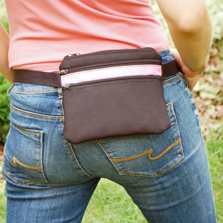 Mini Belt Bag Fanny Pack for Women, Small Waist Purse for Kids Teenagers, Festival Hip Pouch Wallet (Plus Size Option)