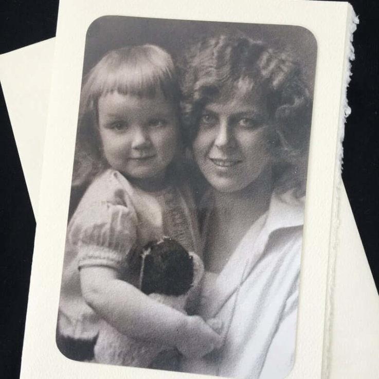 Mom & Daughter 1929