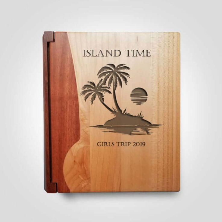 Photo Book for Anniversary Trip, Summer Vacation Photo Album, Island Trip Memories, Anniversary Vacation Memory Book, Wedding Gift for Her