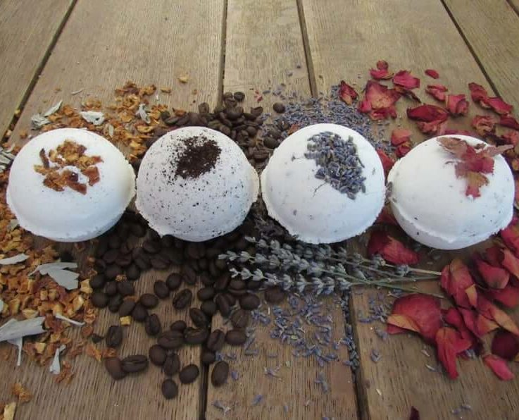 Red Barn Wholesale Bath Bombs Natural Ingredients and Herbs Essential Oil Infused Odor Eliminate + Relax Toxin Free