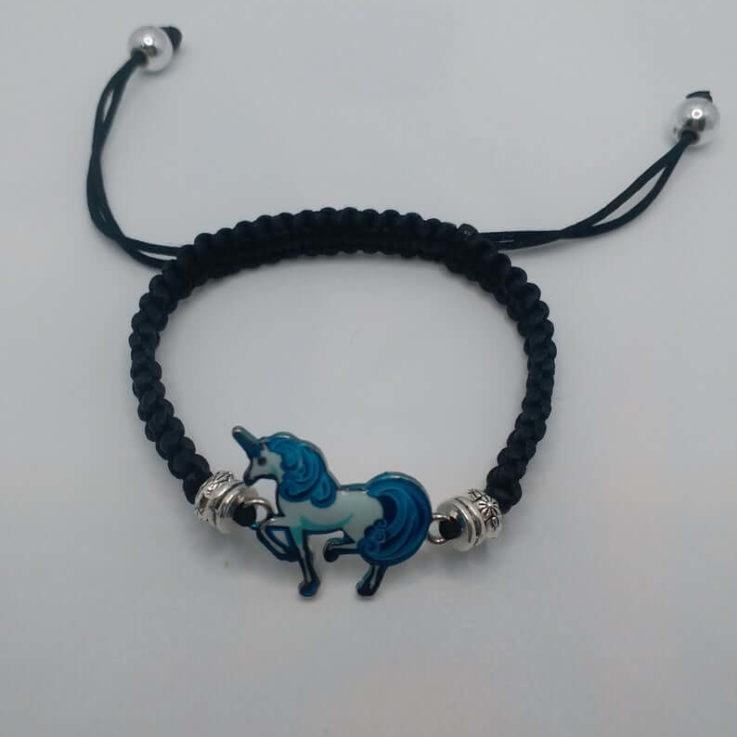 Unicorn Bracelet Charms Bracelet Pony Bracelet Personalise Item Kids Gift Kids Bracelet Kids Fashion Kids ArmbandPony Armband