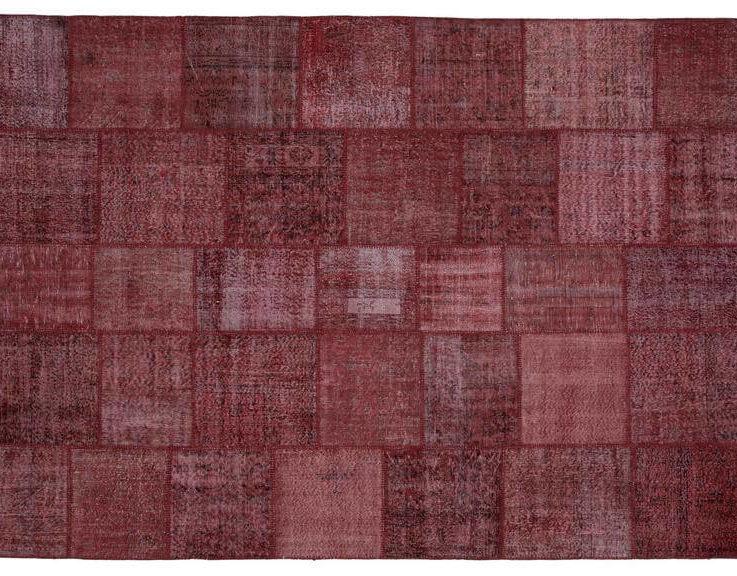 Vintage Patchwork Rug for Living Room and Bedroom, 8x11 Rug, Turkish Carpet, Aesthetic Room Decor Vintage, Contemporary Rug, RugRunnerRoom